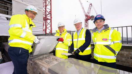 Gascoine West Topping OuT ceremony with Cllr Darren Rodwell