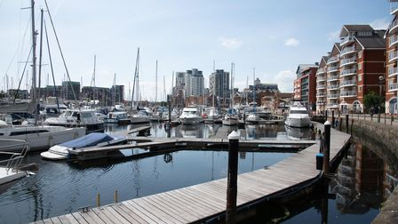 Ipswich Waterfront is fit for any city.