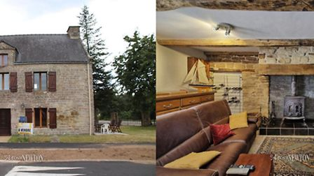 Three-bedroom house in Brittany