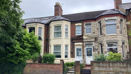 Mid-terraced house on Aylsham Road which sold in Brown & Co's latest property auction