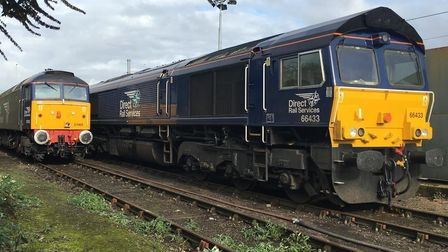 Railhead Treatment Trains will be used throughout autumn