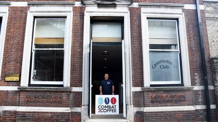 The Combat to Coffee team are opening a new cafe in Bury St Edmunds Picture: CHARLOTTE BOND