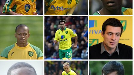 Some of Norwich City's permanent signings in the January transfer window include (top row, left to r