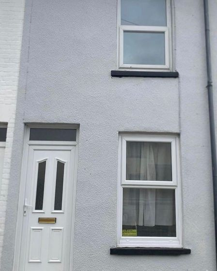 Chloe Ingram bought her first home in Great Yarmouth this summer
