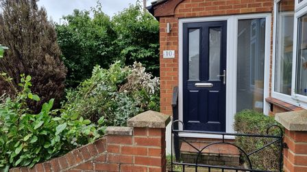 Kayla Allman and her finance Scott Coleman also moved into their first home inHeartsease, Norwich