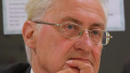 George Nobbs(pictured), leader of the council says control over flood defences is being considered a