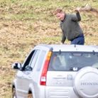 Caught in the act: Hare courser in Cambridgeshire