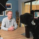 Chris Taylor, from Sheringham, was asked to film himself for his interview onCBS Saturday Morning,