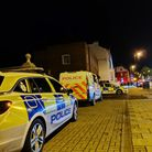 The men were caught spitting near Newmarket town centre on Saturday evening