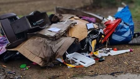 Latest fly tipping in Whittlesey