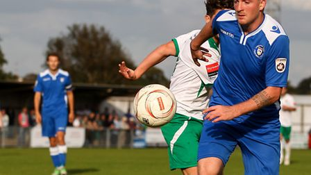 Michael Spillane's return has provided Lowestoft with a timely boost. Picture: MARK CHAPPELL/FOCUS I