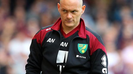 Norwich City manager Alex Neil is looking forward to a Premier League trip to Leicester City. Pictur