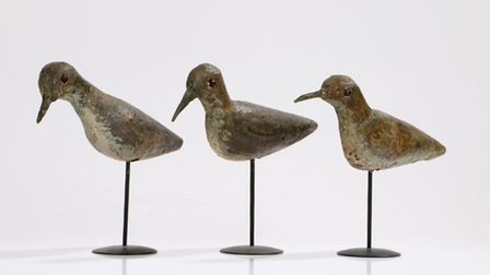 These decoy birds will also be up at auction