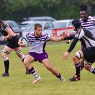 Lewis Geran try Scorer for Exmouth