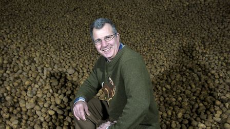 Farmer Tim Papworth, pictured at LF Papworth in Felmingham . Picture by Adam Fradgley