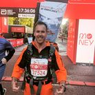 Magpas Air Ambulance doctor, Scott Castell, has raised £5,000 for the charity.