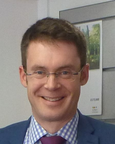 Richard Ling, a branch manager at William H Brown in Holt