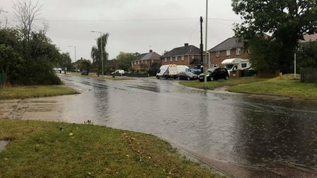 Flooding in Bungay