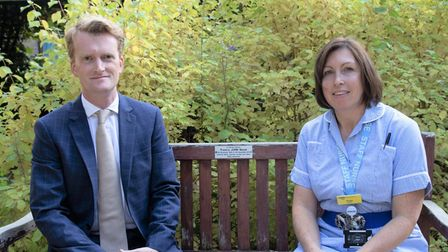Addenbrooke's consultant plastic and hand surgeon, Alex Reid (L) will head the clinic with nurse Tanya Morgan (R).