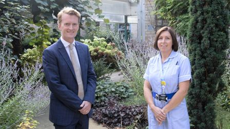 Ely hand clinic is situated next to the minor injuries at the Princess of Wales Hospital