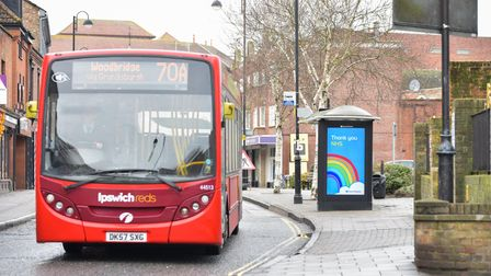Suffolk has missed out on funding to boost local bus services.