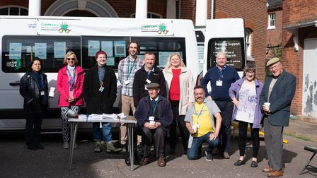 The Cuppa Care Project has been launched to tackle loneliness and isolation in Norwich. Picture:Sa