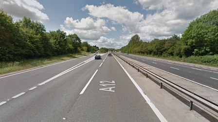 A lorry driver failed to stop after crash on the A12 near Marks Tey