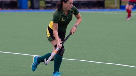 Ely City ladies in action in the East Hockey League
