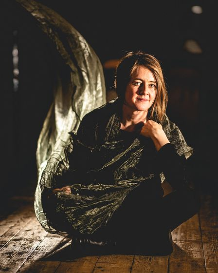 Award-winning folk artist Karine Polwart who will be concluding the run of folk concerts at The Apex on October 17
