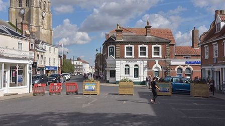new market traffic order beccles