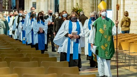 Ely Cathedral hosts ordination service to welcome new lay ministers