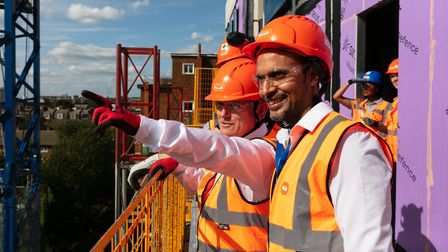 Pointing the way... mayor pushing for more council house building