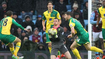 Declan Rudd paid a high price for rushing from his line in Norwich City's 2-0 Premier League defeat