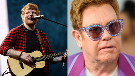 Ed Sheeran will be collaborating with Elton John for a new Christmas song