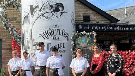 The team at the High Flyer in Ely