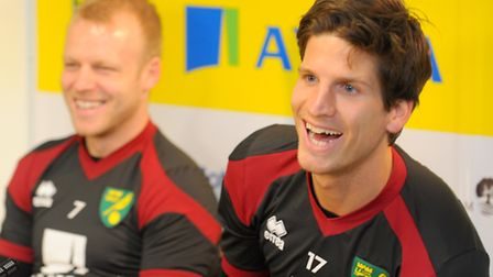 Steven Naismith and Timm Klose were Norwich City's prime targets this window. Photo: Steve Adams