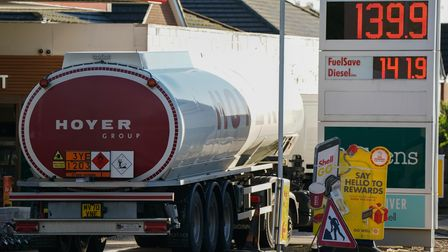 Fuel stations in Suffolk ran out of petrol and diesel at the end of September