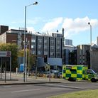 A1307 closed at junction with Fendon Road, Cambridge, following crash near Addenbrooke's Hospital.