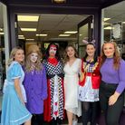 Spike and Violet hair studio held a Macmillan event on October 1