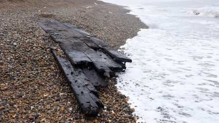 The Thorpeness shipwreck