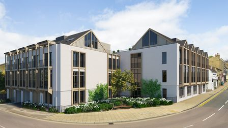Four £100,000one-bedroom homes have gone up for sale at the Old Tannery, Forehill, Ely.