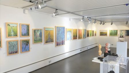 Carol and Bob Banks' exhibition is open until October 24.