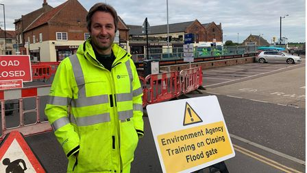 Gavin Chillingworth, a member of the Environment Agency.