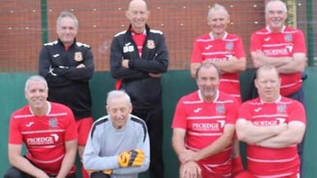 Wisbech Town reds at Whittlesey