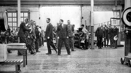 Ford of Britain 100: Image of the Week - 11/52 - Even royalty doesn't stop work as HRH Prince of Wal