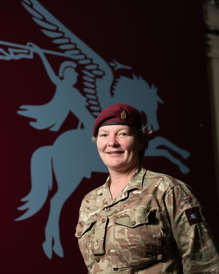 Major Fiona Lankester, 16 Medical Regiment from Elmswell., was involved in the development and deliv