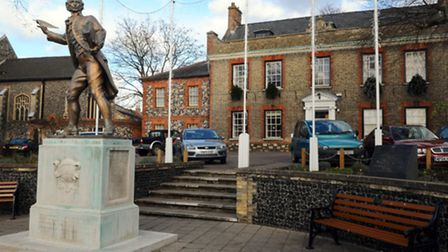 Kings House, where Tuesday's town council meeting was held. Picture: Sonya Duncan