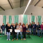 North WalshamYoung Farmers' Club (YFC) presented a £250 charity cheque to the Norfolk and Norwich University Hospital