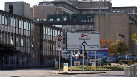 General view of Addenbrooke's Hospital in Cambridge, Cambridgeshire.