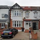 The front of a terraced house in Grove Hill, South Woodford